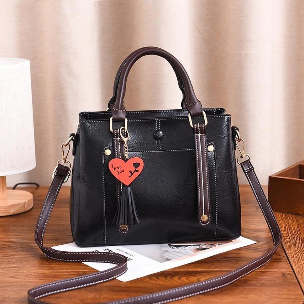 b454431f6ac1 Купить оптом женскую сумку 6548-1 Black