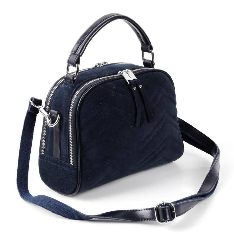 66ab31c991a0 Купить оптом женскую кожаную сумку 077-1 Д.Блу