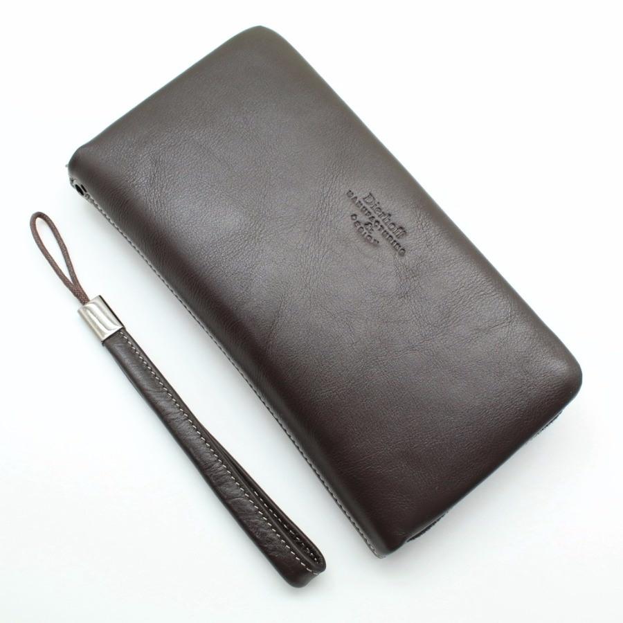 8543212f0bf7 Купить оптом мужское кожаное портмоне (клатч) на молнии Dierhoff Д ...