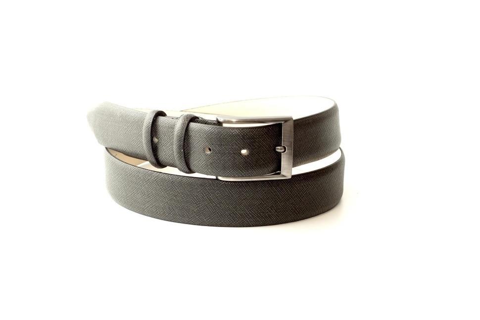 Ремень серый мужской для брюк кожаный ремень дизель мужской для джинс