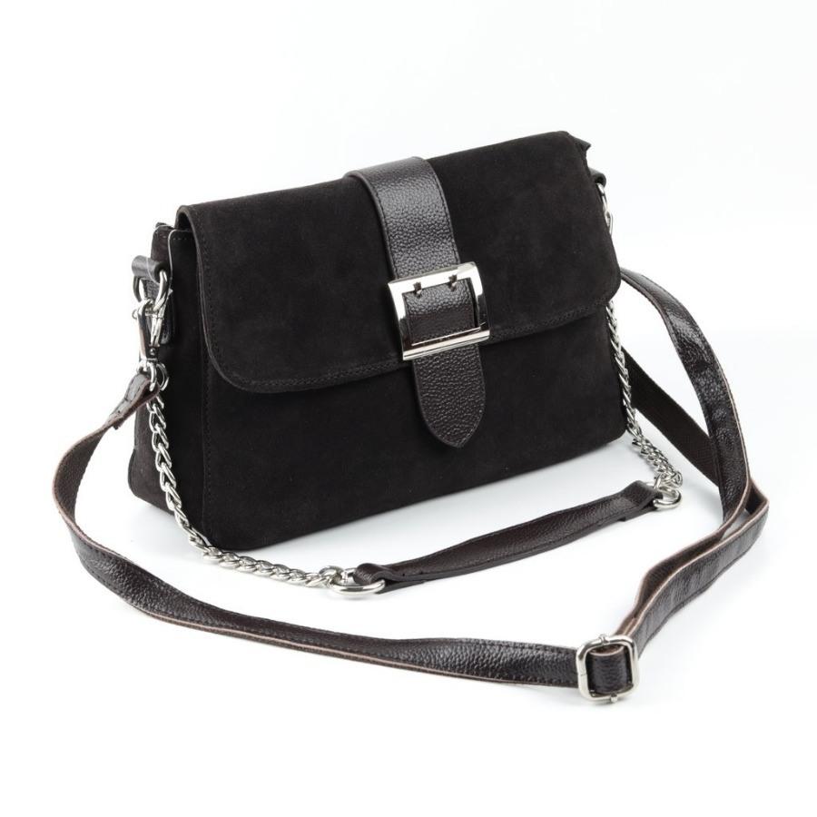 62e51d4428ef Купить оптом женскую замшевую сумку 1720 Кофе