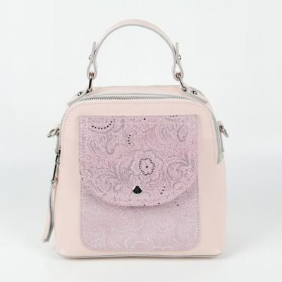 Женская кожаная сумка С1908 Пинк