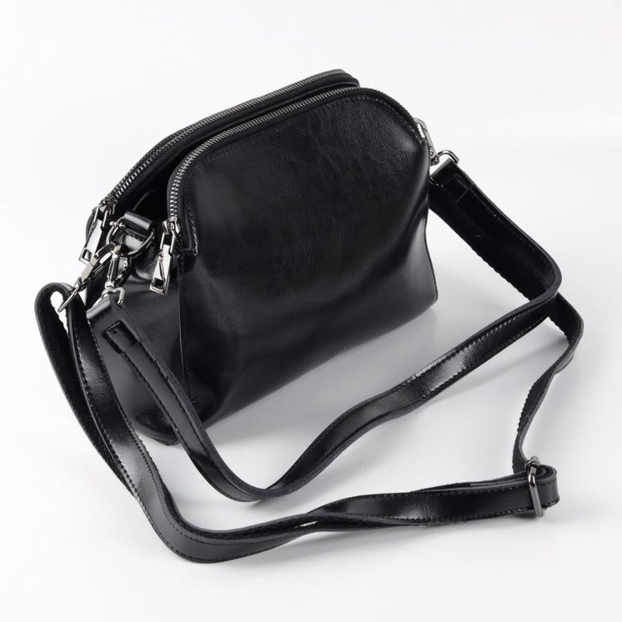 Женская кожаная сумка Н-1052 Черный