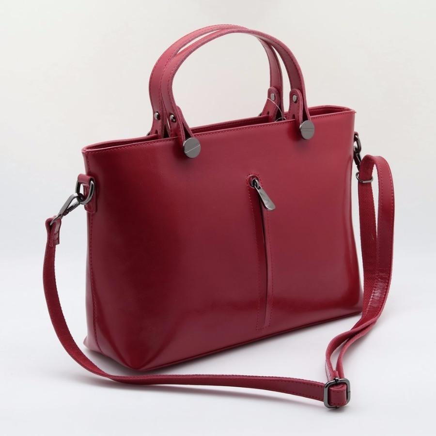 2e56b8881587 Купить оптом женскую кожаную сумку 6051-М Ред
